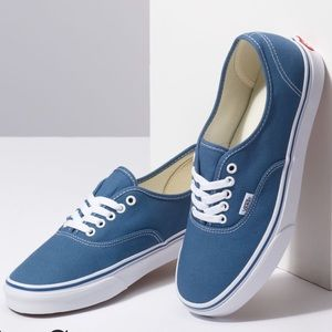 Men's Authentic Navy Vans